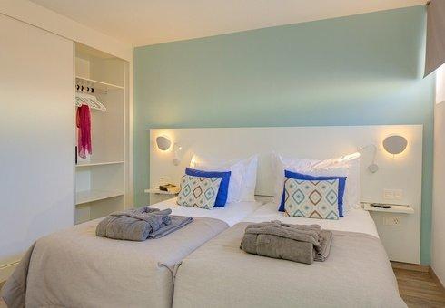 Standard Suite mit Gartenblick